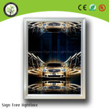 A4는 LED Lightbox를 광고하는 알루미늄 프레임을 체중을 줄인다