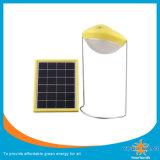 太陽キャンプするか、または表ライト(3With6V太陽電池パネルと)