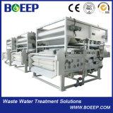 コンパクトなベルトの沈積物の脱水機のプラント沈積物排水機械ベルトフィルター出版物