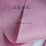 tela antiestática del uniforme del poliester de 105G/M2 75dx75D