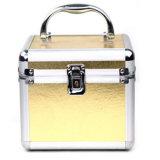 Bewegliche goldene Aluminium+PU leeren Verfassungs-Kasten-Kasten