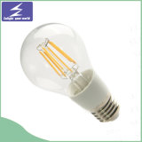 Luz de bulbo del filamento del vidrio 2W 3W 5W 8W LED