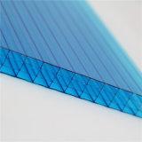 Feuilles multi de polycarbonate de mur avec la protection UV