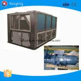 Refrigerador refrigerando de refrigeração ar do parafuso industrial da área da alta temperatura e da pressão