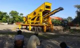Hohe leistungsfähige Auswirkung-mobile Zerkleinerungsmaschine für Steinzerquetschenpflanze