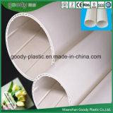 Tubo espiral interno del drenaje de la pared que silencia hueco PVC-U