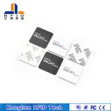 Etiqueta impermeable modificada para requisitos particulares del PVC RFID para la gerencia de la circulación