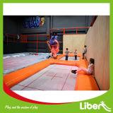 Большой крытый профессиональный коммерчески парк Trampoline для малышей и взрослых
