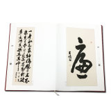 Impresión impresa insignia modificada para requisitos particulares Hardcover del libro de papel de arte