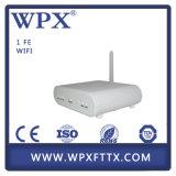 Única fibra ONU de Gpon com modem de WiFi