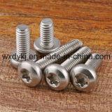 Edelstahl-Befestigungsteilcinquefoil-Kontaktbuchse-runder Hauptmaschinen-Schrauben-Befestigungsteil-Lieferant von China JIS B 1107