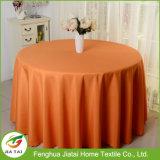 Tablecloth redondo do poliéster da tampa de pano de tabela do casamento do hotel