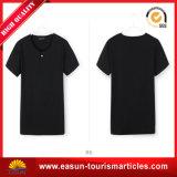 100% Katoenen Zwart-witte Slanke T-shirt voor Mensen