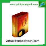 Подгонянный роскошью мешок Kraft печатание водоустойчивый бумажный с логосом