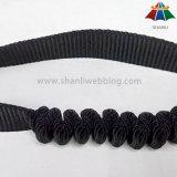tessitura elastica dell'ammortizzatore ausiliario del poliestere nero di 32mm per i prodotti esterni di sicurezza