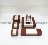 Modischer Hartholz-Schmucksache-Paket-Fall-handgemachter hölzerner Schmucksache-Kasten