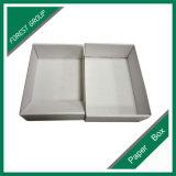 Первоначально коробка белой бумаги типа крышки и дна