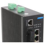 8 interruptor industrial de la red de Ethernet de los accesos IP40 Dinrail