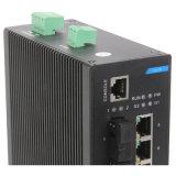 8 포트 IP40 Dinrail 산업 이더네트 네트워크 스위치