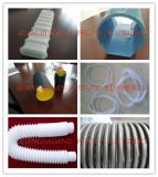 Macchina ondulata a parete semplice di plastica dell'espulsore del tubo/linea di produzione ondulata di plastica del tubo