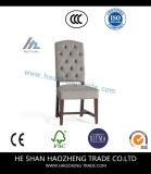 Hzdc074 가구 회색 옆 의자 - 2의 세트 - 오크 완료