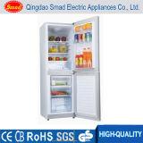 Refrigerador vertical doble del compresor 12V de la C.C. del refrigerador de la puerta de la energía solar