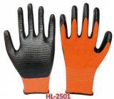 Перчатки нитрила для химически обрабатывать, печатание, деятельности машины, обслуживание