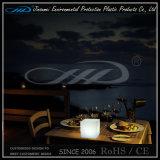 Luz clara da mesa do diodo emissor de luz da decoração da tabela do cubo do diodo emissor de luz do preço direto