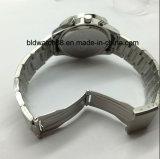 Vigilanza impermeabile su ordinazione del cronografo dell'acciaio inossidabile di sport del Mens per il regalo