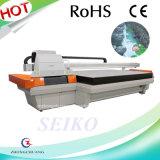 중국 제조자 1.6*2.5m 단화를 위한 인쇄 크기 UV 평상형 트레일러 인쇄 기계