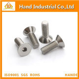 Aço inoxidável 316 DIN7991 Csk Head Hex Socket Screws