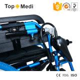 Topmedi, das elektrischer Strom-Rollstuhl faltet