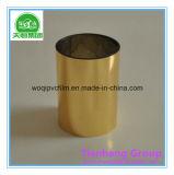 Bandeja de vácuo plástica de plástico rígido de ouro PVC para embalagem de chocolate