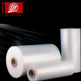 Película lisa da película elevada do envoltório da película de estiramento da transparência LLDPE