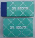 Calibre métrico do seletor do indicador do seletor com certificado de teste (com aço da parte traseira do lugger dever a caixa plástica)