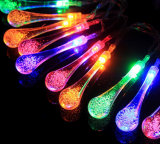 屋外のクリスマスの装飾のための妖精LEDのつららライト