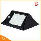 Nova versão 20 LEDs Luz solar exterior com sensor de movimento Lâmpadas solares impermeáveis para lâmpada de segurança de jardim