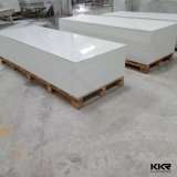 Kkr White Modified Acrylic Solid Surface Sheet pour table à manger