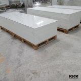 Folha de superfície contínua acrílica modificada branco para a tabela de jantar
