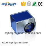 Laser 표하기를 위한 12mm 가늠구멍을%s 가진 고속 Galvo 스캐너 Js2205
