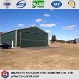 小さい格納庫のための鋼鉄軽く移動可能な構造