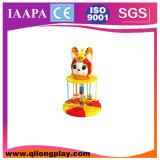 Nuevos productos que giran el patio suave eléctrico animal de la historieta para las ventas (QL--074)