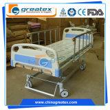 Funktions-medizinische manuelle Krankenhaus-Bett-Preise des Qualitäts-Stahlspant-5