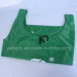 再使用可能な210dポリエステル昇進のギフトのFoldableショッピング・バッグ