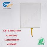 Пленка фольги касания LCD стекла 5.6 крышки Glass+Sensor сопротивляющая для системы безопасности