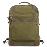 10oz Canvas Fabric with Shoulder Strap Knap-Sack High Quality Outdoor Backpack (RS-6905C)