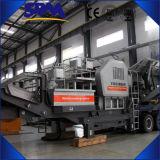 2016 Minería de China trituradora móvil planta precio de venta