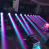 DJ 디스코 단계 이동하는 헤드 350W 17r 광속 반점 세척