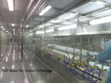 Linha de pintura UV automática do pulverizador do verniz do robô
