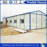 Casa prefabricada de la asamblea del bajo costo del edificio diseño prefabricado rápido de la casa del nuevo de la estructura de acero